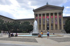 Philadelphia, am 4. August: Art Museum Building von Philadelphia in Pennsylvania stockfotografie