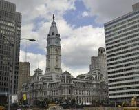 Philadelphia,August 4th:City Hall Building from Philadelphia in Pennsylvania Royalty Free Stock Photo
