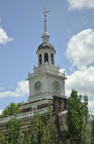 Philadelphia,August 4th:Independence Hall Tower from Philadelphia in Pennsylvania Stock Photography