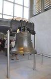 Philadelphia, 4 Augustus: Liberty Bell van Onafhankelijkheidscentrum van Philadelphia in Pennsylvania stock fotografie