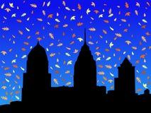 Philadelphia in autumn Royalty Free Stock Image
