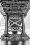 Philadelphia ben franklin bridge Royalty Free Stock Image