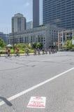 Philadelphia bike race royalty free stock photos