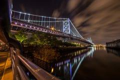 Philadelphia Bridge. Bridge connecting Philadelphia and new jersey Stock Photography