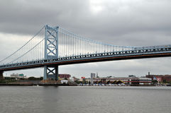 Philadelphia Bridge Royalty Free Stock Photos