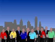 Philadelphia business people Stock Photo