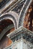 Philadelphia cast iron. Philadelphia, Pennsylvania in the United States. Old cast iron facade in a building Stock Photo