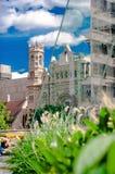 Philadelphia centrumsikt i PA USA Arkivfoto