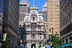 Philadelphia City Hall. City Hall in Philadelphia, Pennsylvania viewed from Broad Street Stock Images