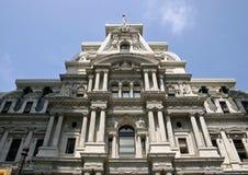 Philadelphia City Hall. The side of the Philadelphia City Hall building Stock Photo
