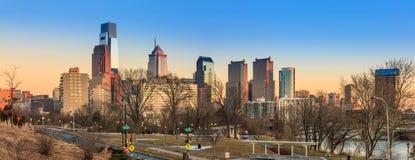 Philadelphia city skyline Stock Photography