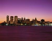 Philadelphia cityscape Stock Images