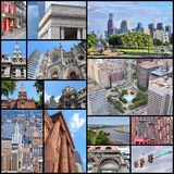 Philadelphia collage Stock Photos