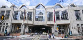 Philadelphia Convention Center PHILADELPHIA - PENNSYLVANIA - 6 de abril de 2017 Fotos de archivo libres de regalías