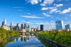Philadelphia de stad in Royalty-vrije Stock Foto