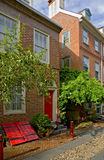 Philadelphia: De Steeg van Elfreth Royalty-vrije Stock Foto's