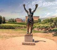 PHILADELPHIA, de V.S. - JUNE19, 2016 - Silvester Stallone Rocky-standbeeld Stock Afbeeldingen