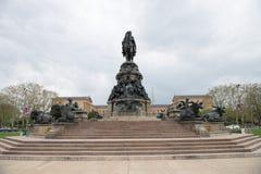 PHILADELPHIA, DE V.S. - 12 JUNI, 2013: George Washington-monument in Philadelphia Het standbeeld in 1897 door Rudolf wordt ontwor Stock Foto's