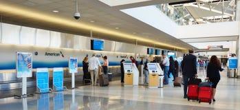 Philadelphia den internationella flygplatsen (PHL) Royaltyfria Foton