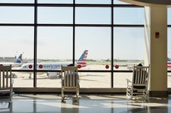 Philadelphia den internationella flygplatsen (PHL) Arkivbilder