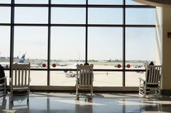 Philadelphia den internationella flygplatsen (PHL) Arkivfoto