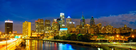 Philadelphia downtown Stock Photo