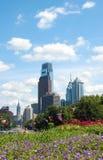 Philadelphia downtown skyline Stock Photography