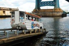 Philadelphia Duck Mobile royaltyfri fotografi