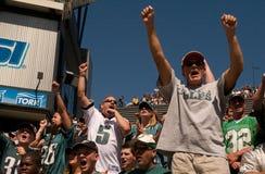 Philadelphia Eagle fans Stock Photography