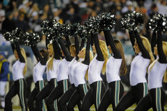 Philadelphia Eagles cheerleaders Stock Images
