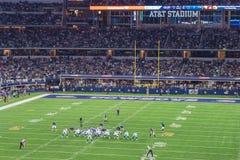 Philadelphia Eagles contra Dallas Cowboys en el estadio de AT&T Fotos de archivo libres de regalías
