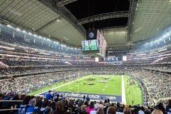 Philadelphia Eagles contre Dallas Cowboys au stade d'AT&T photographie stock libre de droits