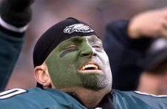 Philadelphia Eagles Fans Stock Images
