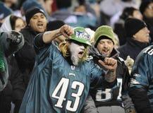 Philadelphia Eagles fans Stock Photos