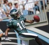 Philadelphia Eagles gegen Carolina-Leoparden Lizenzfreie Stockbilder