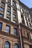 Philadelphia, el 4 de agosto: Fachada de la alameda de la bolsa del edificio histórico de Philadelphia en Pennsylvania Imagen de archivo libre de regalías