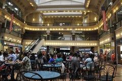 Philadelphia, el 4 de agosto: Interior de la alameda de la bolsa del edificio histórico de Philadelphia en Pennsylvania Imagenes de archivo