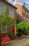 Philadelphia: Elfreths Gasse Lizenzfreie Stockfotos