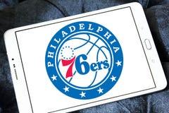 Philadelphia 76ers amerikansk basketlaglogo Fotografering för Bildbyråer