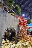 Philadelphia Flower Show 2017. The Philadelphia Flower Show March 11th 2017 Opening Day. The theme is Holland Royalty Free Stock Images