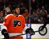 Philadelphia Flyers Enforcer & Bad Boy Zac Rinaldo Stock Photo