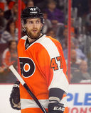 Philadelphia Flyers & Former New York Islanders Defenseman Andrew MacDonald Royalty Free Stock Photos