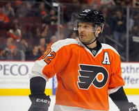 Philadelphia Flyers & Former New York Islanders Defenseman Mark Streit Stock Photography