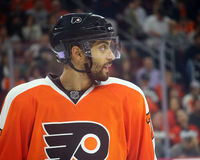 Philadelphia Flyers Newest Rookie from France, Pierre-Edouard Bellemare Stock Photos