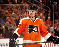 Philadelphia Flyers Newest Star from Austria, Michael Raffl Stock Photo