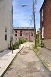Philadelphia-Gasse lizenzfreie stockfotografie