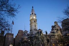 Philadelphia-Glockenturm Stockfotos