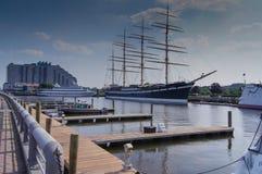 Philadelphia-Hafen Stockbild