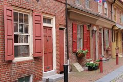 Philadelphia Historic District Royalty Free Stock Images