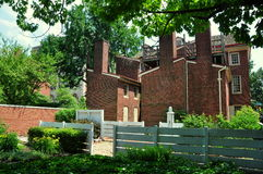 Philadelphia: Historic 18th Century Todd House Royalty Free Stock Images